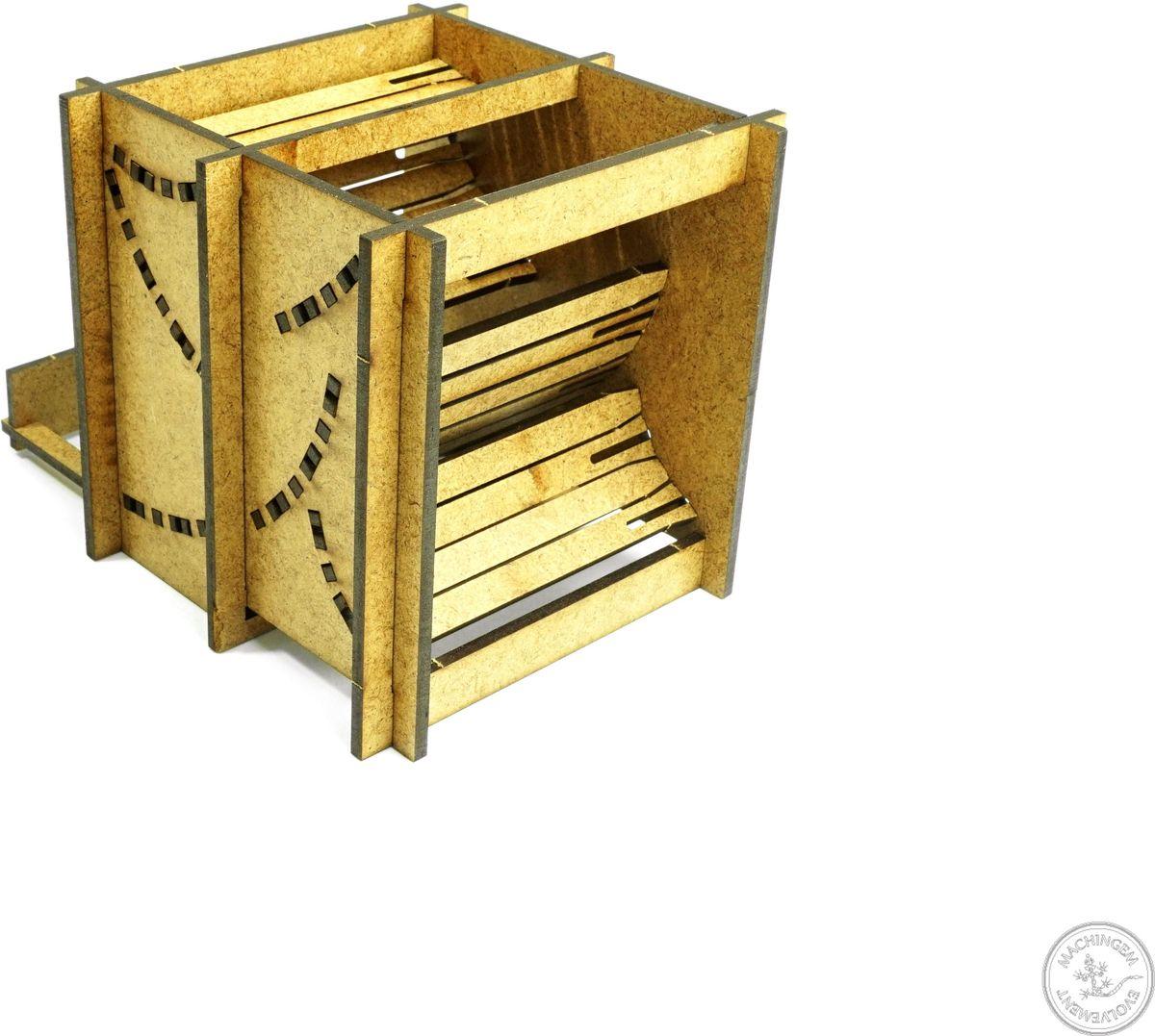 Правильные игры Башня для бросков кубиков Короб Дождя малая складная 2 режимаLP005-064Башня для бросков кубиков - это приспособления для бросков кубиков когда важно, чтобы значения, выпавшие на кубиках не подверглись сомнению. Башня собирается самостоятельно без клея.