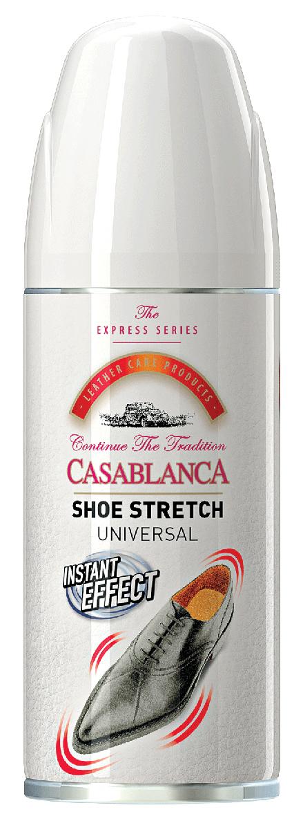 Спрей-растяжка для обуви Casablanca. 1311. 160мл1311Растяжка для обуви от Casablanca смягчает и растягивает, корректируя кожу обуви, снижает дискомфорт от тесной обуви. Подходит для всех типов кожи.