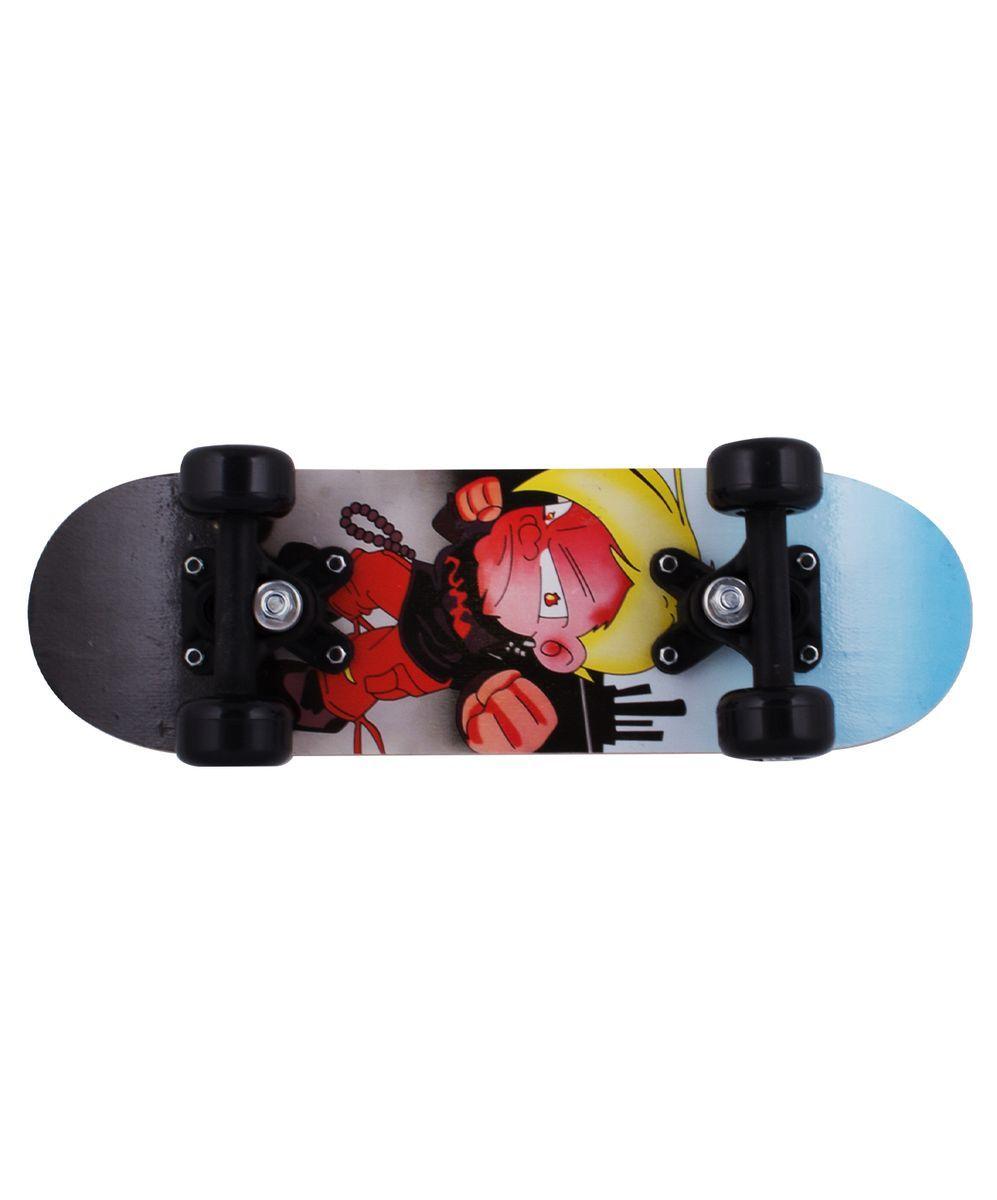Скейтборд Ridex Mini A-1, 17Х5, 608ZУТ-00008213Скейтборд Mini A-1, 17x5 - это скейтборд для самых маленьких, для тех, кто начинает свои первые шаги в катании на доске. 17-ти дюймовая дека, пластиковая подвеска, ПВХ колеса, индивидуальный дизайн. Технические характеристики: Дека: китайский клен, 9 слоев Размер деки: 17 дюймов Максимальный вес пользователя, кг: 40 Подвеска: пластик Колеса: PVC Подшипники: 608Z Производство: КНР