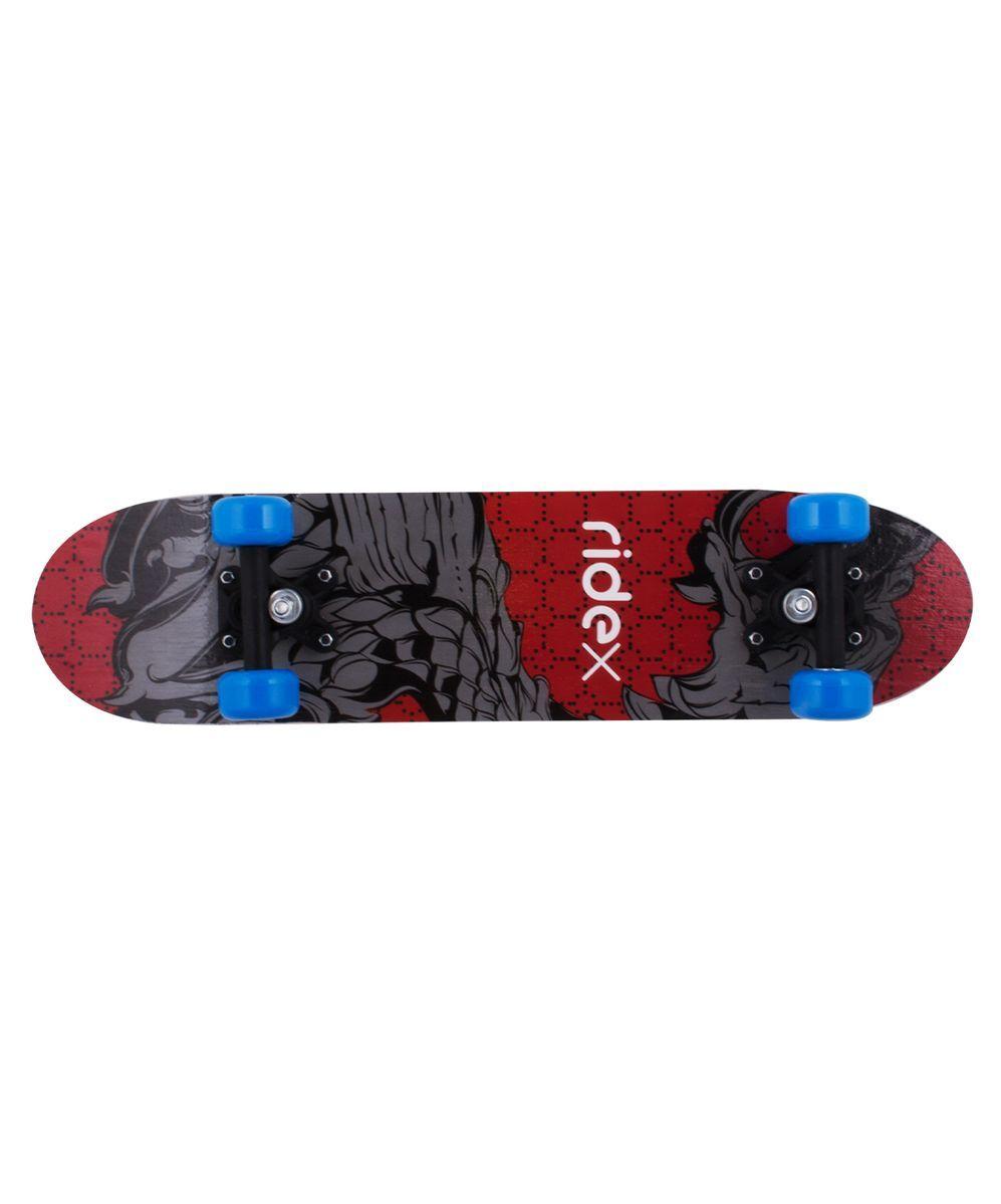 Скейтборд Ridex Midi S-4, 24Х6, 608ZУТ-00008215Скейтборд Midi S-4, 24x6 - это скейтборд для более взрослых детей, тех, кто начинает или продолжает свои шаги в катании на доске. 24-х дюймовая дека, пластиковая подвеска, ПВХ колеса, индивидуальный дизайн. Технические характеристики: Дека: китайский клен, 9 слоев Размер деки: 24 дюймов Максимальный вес пользователя, кг: 50 Подвеска: пластик Колеса: PVC Подшипники: 608Z Производство: КНР