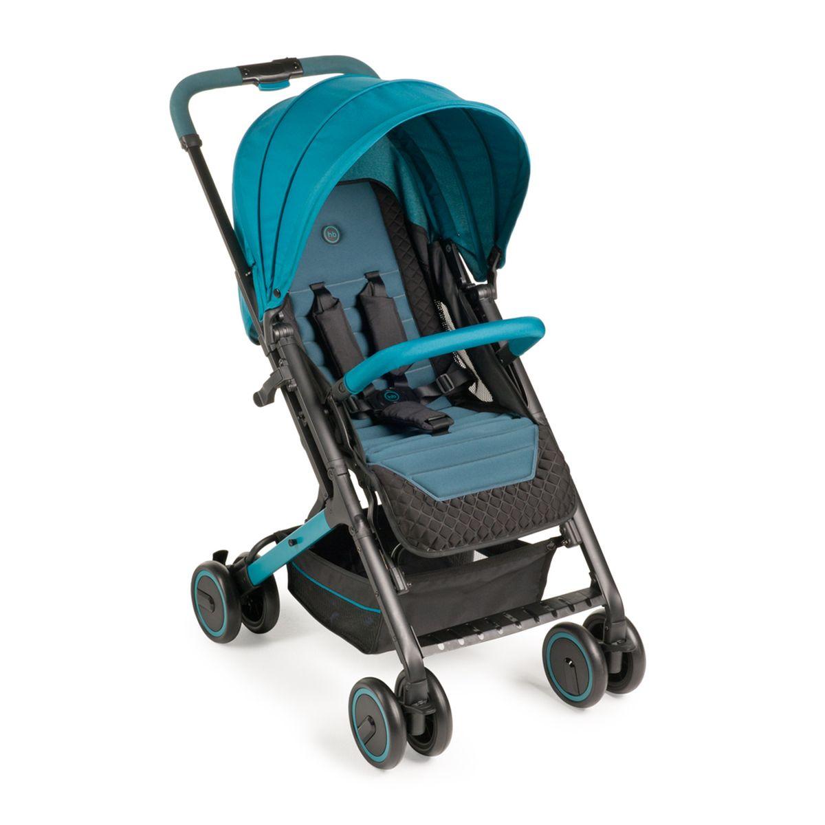 Happy Baby Коляска прогулочная Jetta Marine4650069783121Коляска JETTA покорит вас своим стильным видом и отличными ходовыми данными. Плавный ход коляски обеспечивают двойные колеса, при этом передние поворачиваются на 360° и могут фиксироваться. Передние и задние колеса оснащены амортизацией, что позволяет преодолевать ступеньки с комфортом для ребенка. Коляска JETTA легко складывается одной рукой, имеет съемный бампер, регулируемую с помощью ремня спинку, а также вместительную корзину. ХАРАКТЕРИСТИКИ • Плавная регулировка наклона спинки, количество положений не ограничено • Регулируемая подножка, 3 положения • Регулируемая по высоте ручка, 3 положения • Пятиточечные ремни безопасности с мягкими накладками • Колеса: пластиковые с покрытием PP (полипропилен) • Диаметр колес: 15 см • Передние поворотные колеса с возможностью фиксации • Удобная тормозная педаль на заднем колесе • Амортизация на передних и задних колесах • Вместительная корзина для покупок • В комплекте: дождевик, чехол на ножки, москитная сетка • Возраст: от 7 месяцев •...