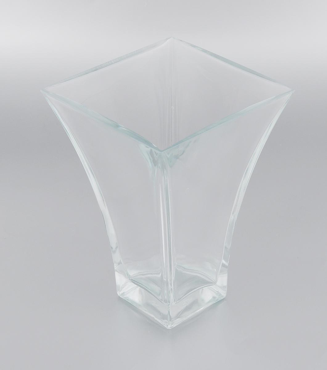Ваза Pasabahce Botanica, высота 20 см80149BЭлегантная ваза Pasabahce Botanica выполнена из высококачественного натрий-кальций- силикатного стекла. Изделие придется по вкусу и ценителям классики, и тем, кто предпочитает утонченность и изящность. Вы можете поставить вазу в любом месте, где она будет удачно смотреться и радовать глаз. Такая ваза подойдет для декора интерьера. Кроме того - это отличный вариант подарка для ваших близких и друзей. Можно мыть в посудомоечной машине. Высота вазы: 20 см. Размер вазы (по верхнему краю): 14,5 х 14,5 см.