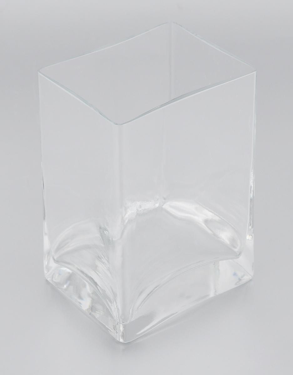 Ваза Pasabahce Botanica, высота 14 см43071BВаза Pasabahce Botanica, выполненная из натрий-кальций- силикатного стекла, сочетает в себе изысканный дизайн с максимальной функциональностью. Ваза прямоугольной формы имеет гладкие прозрачные стенки. Такая ваза придется по вкусу и ценителям классики, и тем, кто предпочитает утонченность и изысканность. Можно мыть в посудомоечной машине. Размер вазы по верхнему краю: 10 х 8 см. Высота: 14 см.