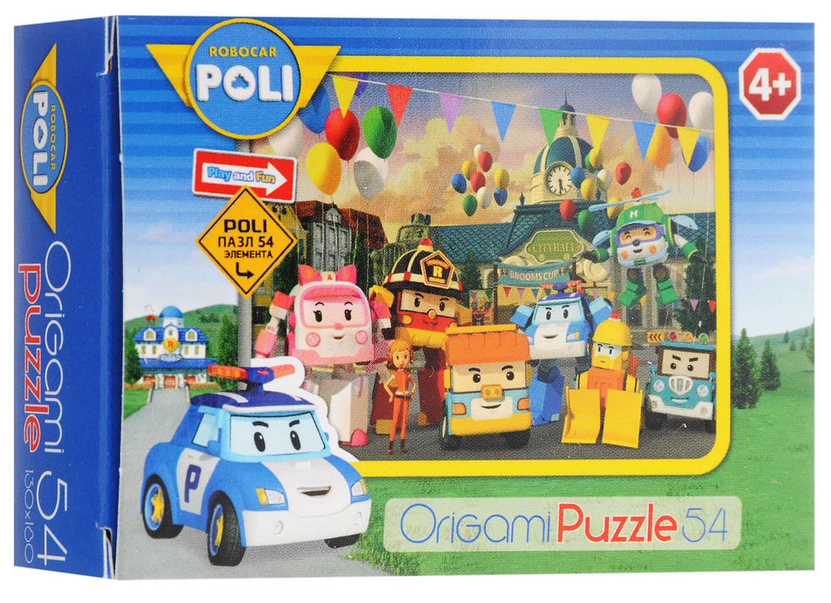 Оригами Мини-пазл Robocar Poli С шарами