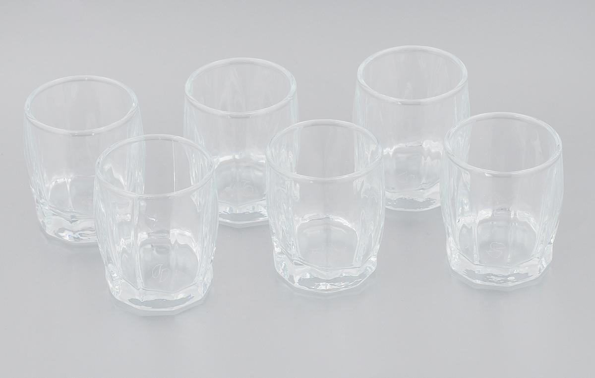 Набор стаканов Pasabahce Dance, 55 мл, 6 шт42864/Набор Pasabahce Dance состоит из шести стаканов, выполненных из закаленного натрий-кальций-силикатного стекла. Низкие стаканы предназначены для подачи водки и других напитков. Они сочетают в себе элегантный дизайн и функциональность. Набор стаканов Pasabahce Dance идеально подойдет для сервировки стола и станет отличным подарком к любому празднику. Можно использовать в морозильной камере и микроволновой печи до 70°C. Можно мыть в посудомоечной машине. Диаметр стакана (по верхнему краю): 4,5 см. Высота стакана: 5,5 см.