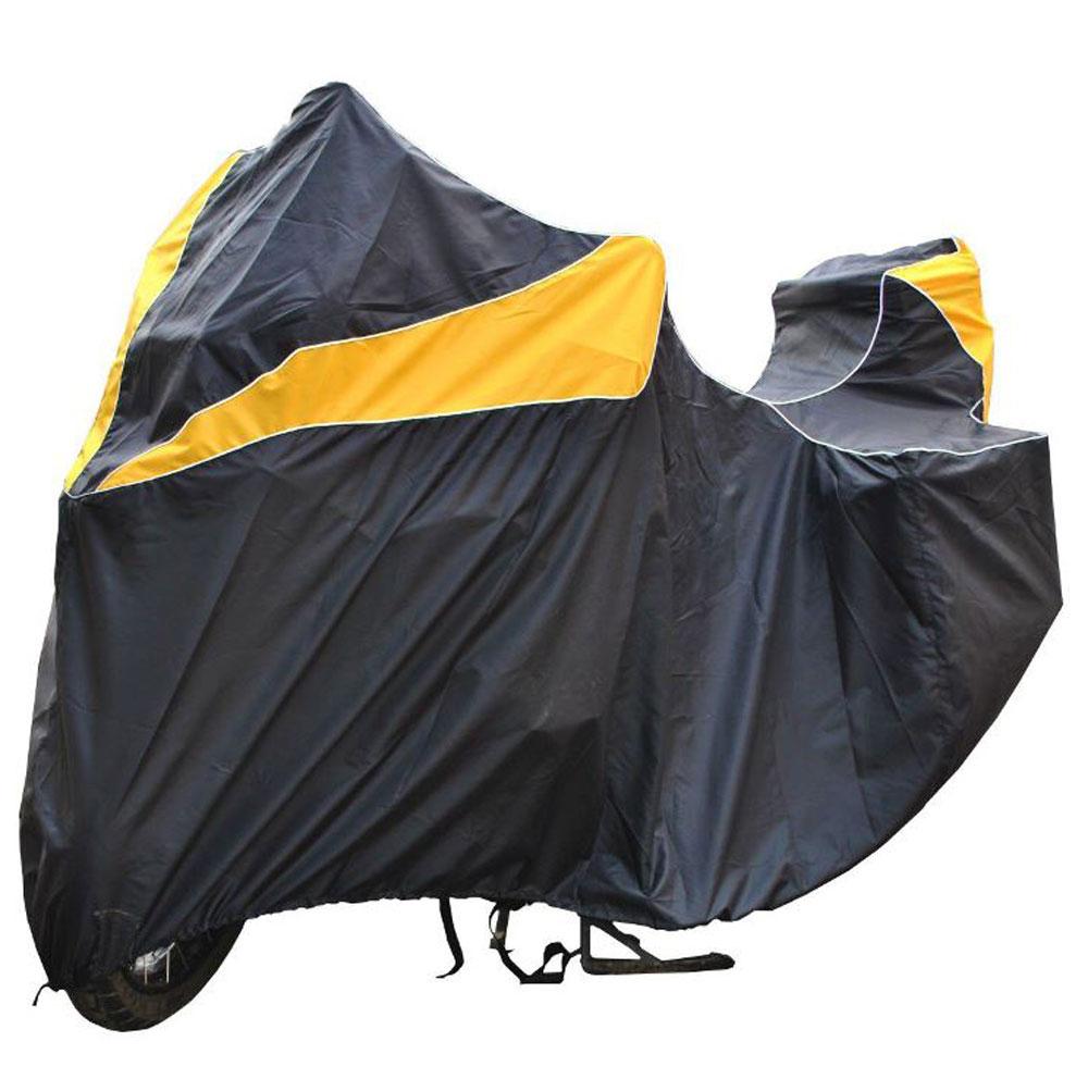 "Чехол ""AG-brand"" для мотоцикла BMW R 1200 GS Adventure, цвет: черный, желтый"