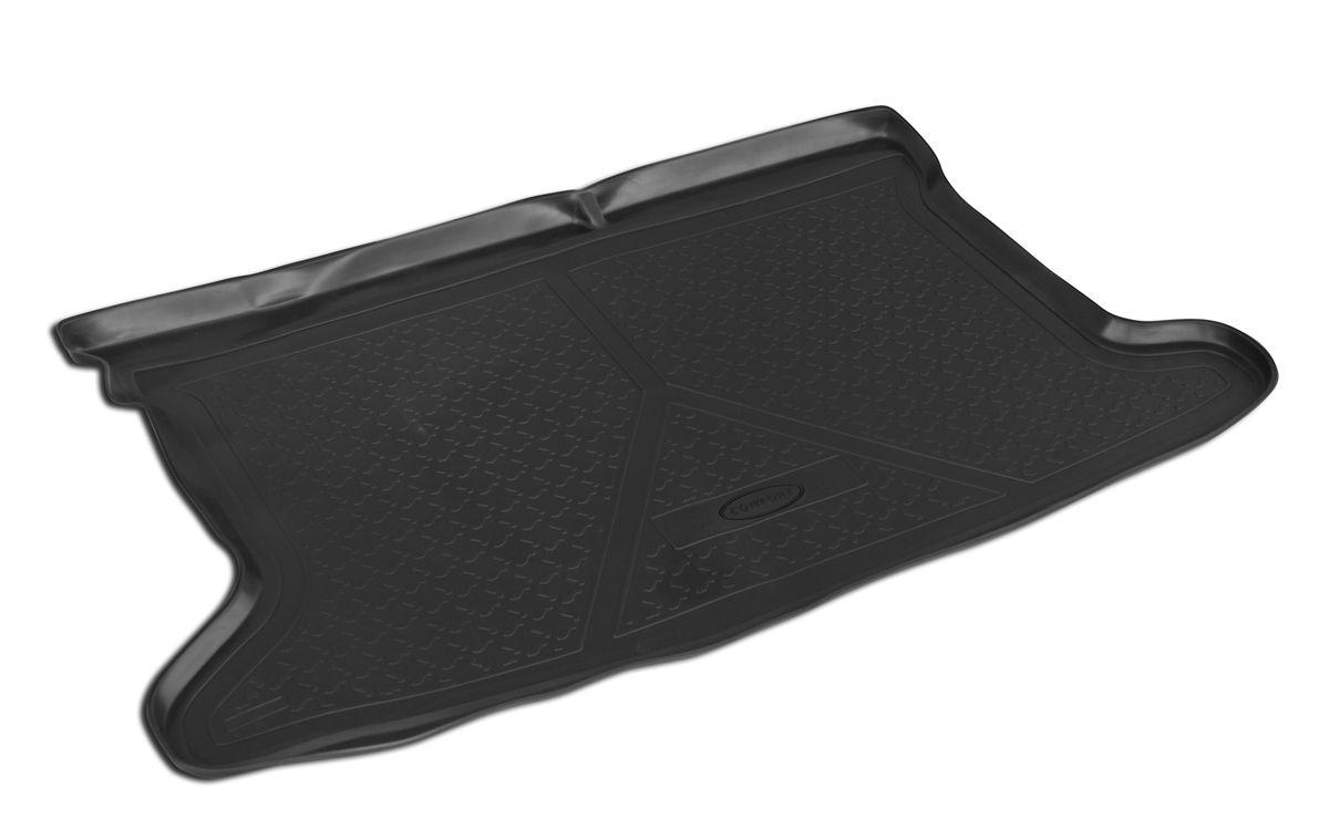 Коврик автомобильный Rival, для Mazda 3 хэтчбек 2013-, в багажник, 1 шт0013801006Автомобильный коврик в багажник Rival позволяет надежно защитить и сохранить от грязи багажный отсек на протяжении всего срока эксплуатации. Коврик полностью повторяет геометрию багажника вашего автомобиля. - Высокий борт специальной конструкции препятствует попаданию разлившейся жидкости и грязи на внутреннюю отделку. - Коврик произведен из первичных материалов, в результате чего отсутствует неприятный запах в салоне автомобиля. - Рисунок обеспечивает противоскользящую поверхность, благодаря которой перевозимые предметы не перекатываются в багажном отделении, а остаются на своих местах. - Высокая эластичность материала позволяет беспрепятственно эксплуатировать коврик при температуре от -45°C до +45°C. - Коврик изготовлен из высококачественного и экологичного материала, не подверженного воздействию кислот, щелочей и нефтепродуктов.