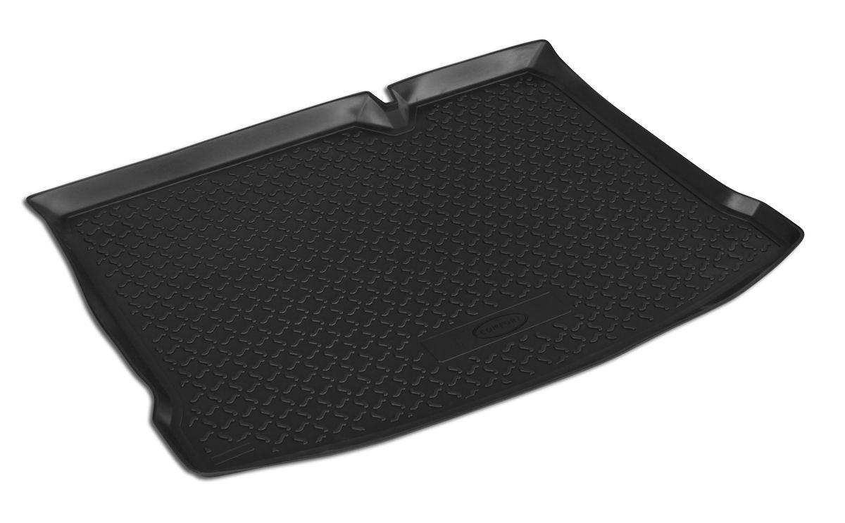 Коврик автомобильный Rival, для Renault Sandero 2014-, в багажник, 1 шт0014703002Автомобильный коврик в багажник Rival позволяет надежно защитить и сохранить от грязи багажный отсек на протяжении всего срока эксплуатации. Коврик полностью повторяет геометрию багажника вашего автомобиля. - Высокий борт специальной конструкции препятствует попаданию разлившейся жидкости и грязи на внутреннюю отделку. - Коврик произведен из первичных материалов, в результате чего отсутствует неприятный запах в салоне автомобиля. - Рисунок обеспечивает противоскользящую поверхность, благодаря которой перевозимые предметы не перекатываются в багажном отделении, а остаются на своих местах. - Высокая эластичность материала позволяет беспрепятственно эксплуатировать коврик при температуре от -45°C до +45°C. - Коврик изготовлен из высококачественного и экологичного материала, не подверженного воздействию кислот, щелочей и нефтепродуктов.