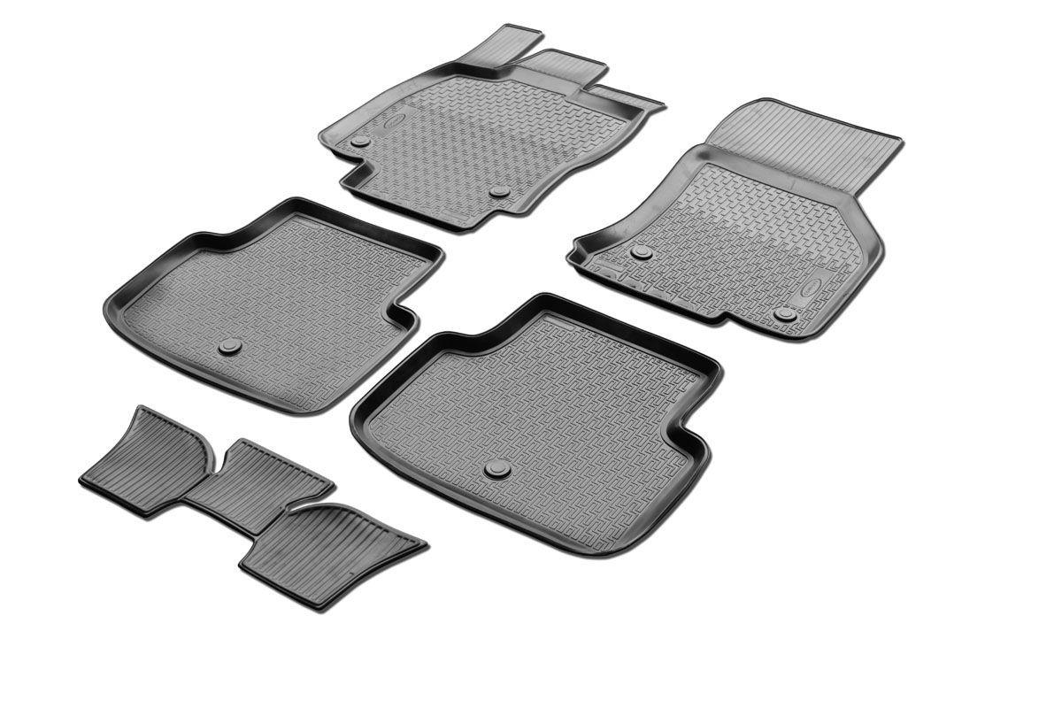 Набор автомобильных ковриков Rival, для Skoda Octavia A7 2013-, в салон, с перемычкой, 4 шт. 00151010010015101001Прочные и долговечные коврики Rival, изготовленные из высококачественного и экологичного сырья, полностью повторяют геометрию салона вашего автомобиля. - Надежная система крепления, позволяющая закрепить коврик на штатные элементы фиксации, в результате чего отсутствует эффект скольжения по салону автомобиля. - Высокая стойкость поверхности к стиранию. - Специализированный рисунок и высокий борт, препятствующие распространению грязи и жидкости по поверхности ковра. - Перемычка задних ковров в комплекте предотвращает загрязнение тоннеля карданного вала. - Коврики произведены из первичных материалов, в результате чего отсутствует неприятный запах в салоне автомобиля. - Высокая эластичность материала позволяет беспрепятственно эксплуатировать коврики при температуре от -45°C до +45°C.