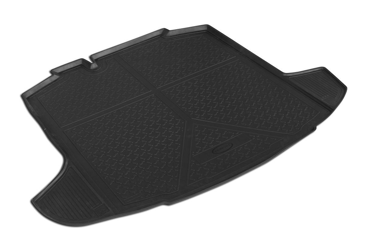 Коврик автомобильный Rival, для Skoda Rapid 2013-, в багажник, 1 шт0015102002Автомобильный коврик в багажник Rival позволяет надежно защитить и сохранить от грязи багажный отсек на протяжении всего срока эксплуатации. Коврик полностью повторяет геометрию багажника вашего автомобиля. - Высокий борт специальной конструкции препятствует попаданию разлившейся жидкости и грязи на внутреннюю отделку. - Коврик произведен из первичных материалов, в результате чего отсутствует неприятный запах в салоне автомобиля. - Рисунок обеспечивает противоскользящую поверхность, благодаря которой перевозимые предметы не перекатываются в багажном отделении, а остаются на своих местах. - Высокая эластичность материала позволяет беспрепятственно эксплуатировать коврик при температуре от -45°C до +45°C. - Коврик изготовлен из высококачественного и экологичного материала, не подверженного воздействию кислот, щелочей и нефтепродуктов.