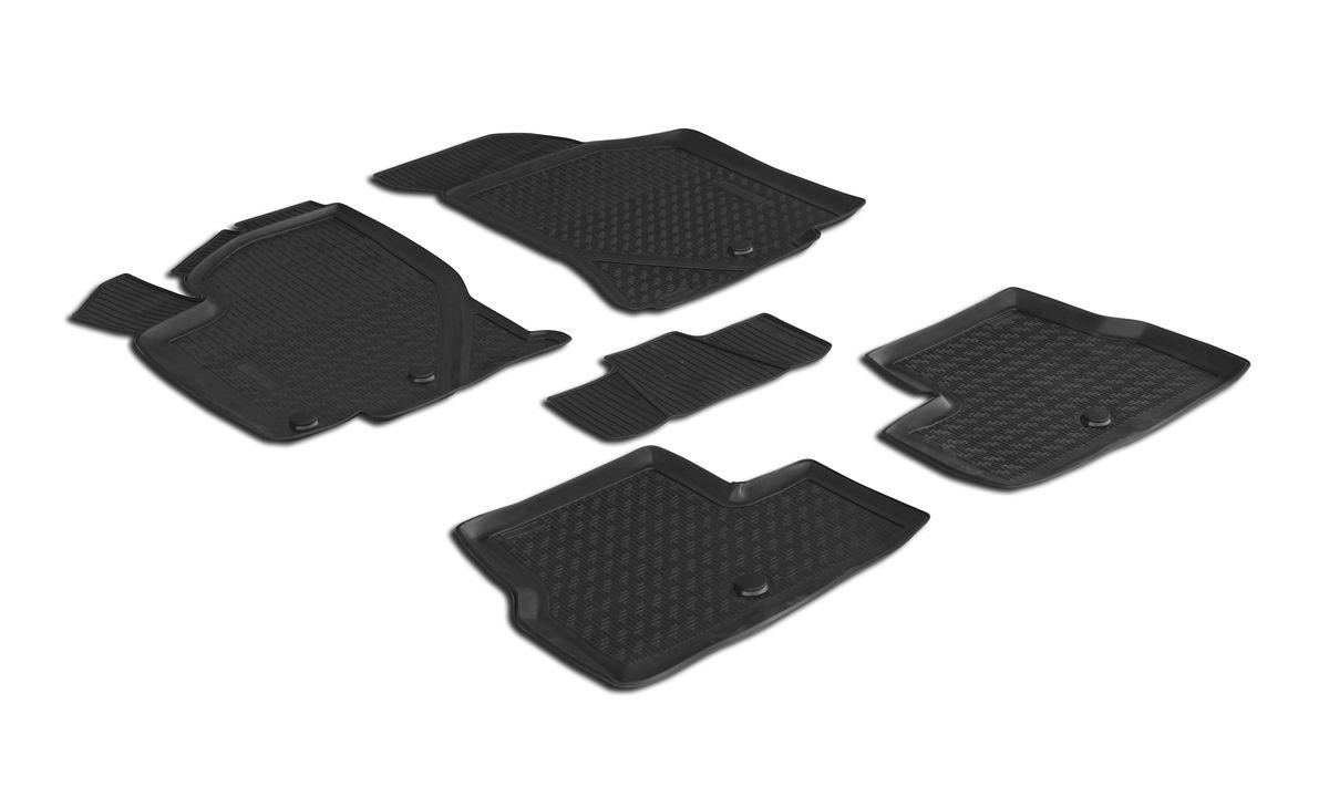 Набор автомобильных ковриков Rival, для Lada Kalina хэтчбек/универсал 2004-2013/2013-, в салон, с перемычкой, 4 шт0016002001Прочные и долговечные коврики Rival, изготовленные из высококачественного и экологичного сырья, полностью повторяют геометрию салона вашего автомобиля. - Надежная система крепления, позволяющая закрепить коврик на штатные элементы фиксации, в результате чего отсутствует эффект скольжения по салону автомобиля. - Высокая стойкость поверхности к стиранию. - Специализированный рисунок и высокий борт, препятствующие распространению грязи и жидкости по поверхности ковра. - Перемычка задних ковров в комплекте предотвращает загрязнение тоннеля карданного вала. - Коврики произведены из первичных материалов, в результате чего отсутствует неприятный запах в салоне автомобиля. - Высокая эластичность материала позволяет беспрепятственно эксплуатировать коврики при температуре от -45°C до +45°C.