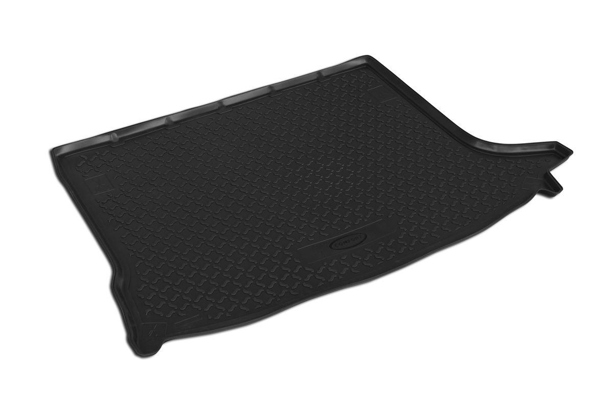 Коврик автомобильный Rival, для Lada Largus 5 мест 2012-, в багажник, 1 шт0016003002Автомобильный коврик в багажник Rival позволяет надежно защитить и сохранить от грязи багажный отсек на протяжении всего срока эксплуатации. Коврик полностью повторяет геометрию багажника вашего автомобиля. - Высокий борт специальной конструкции препятствует попаданию разлившейся жидкости и грязи на внутреннюю отделку. - Коврик произведен из первичных материалов, в результате чего отсутствует неприятный запах в салоне автомобиля. - Рисунок обеспечивает противоскользящую поверхность, благодаря которой перевозимые предметы не перекатываются в багажном отделении, а остаются на своих местах. - Высокая эластичность материала позволяет беспрепятственно эксплуатировать коврик при температуре от -45°C до +45°C. - Коврик изготовлен из высококачественного и экологичного материала, не подверженного воздействию кислот, щелочей и нефтепродуктов.