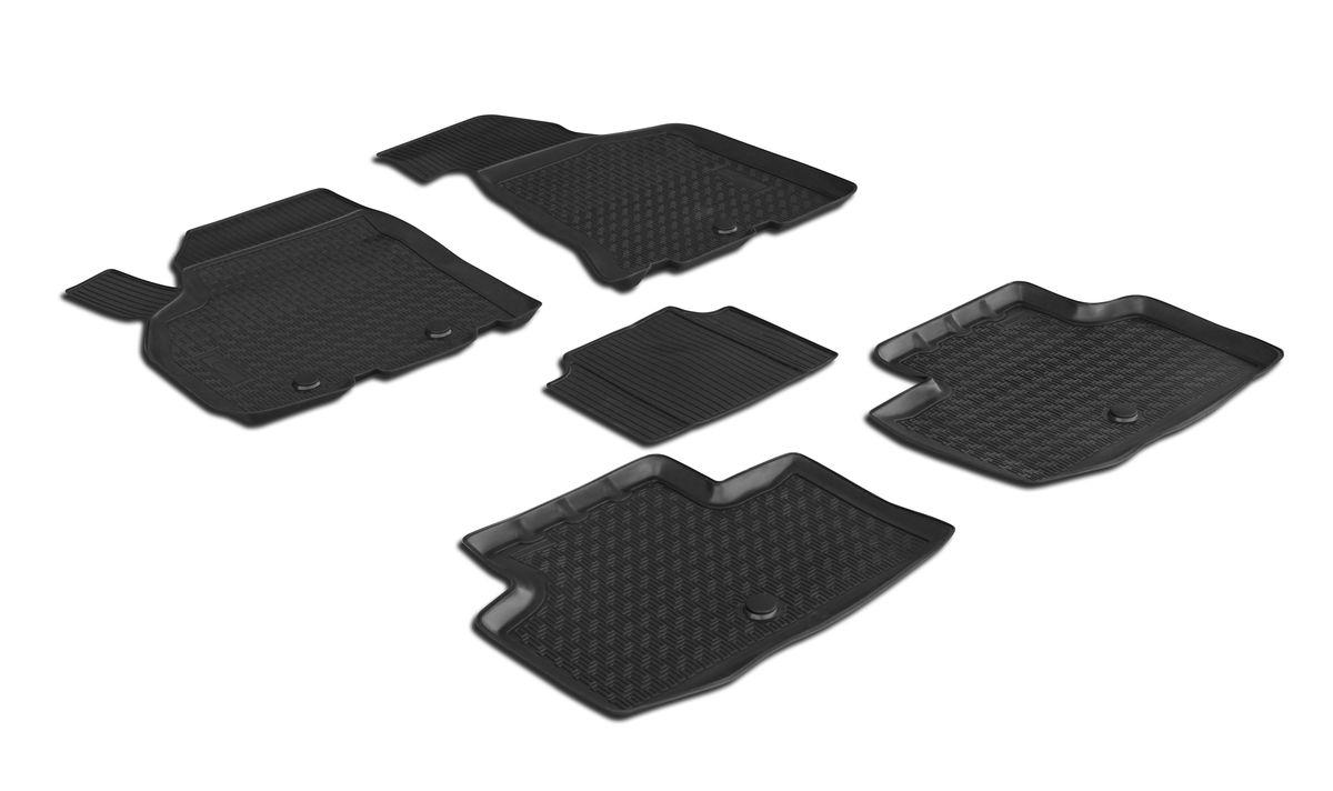 Набор автомобильных ковриков Rival, для Lada Priora 2011-, в салон, с перемычкой, 4 шт0016004001Прочные и долговечные коврики Rival, изготовленные из высококачественного и экологичного сырья, полностью повторяют геометрию салона вашего автомобиля. - Надежная система крепления, позволяющая закрепить коврик на штатные элементы фиксации, в результате чего отсутствует эффект скольжения по салону автомобиля. - Высокая стойкость поверхности к стиранию. - Специализированный рисунок и высокий борт, препятствующие распространению грязи и жидкости по поверхности ковра. - Перемычка задних ковров в комплекте предотвращает загрязнение тоннеля карданного вала. - Коврики произведены из первичных материалов, в результате чего отсутствует неприятный запах в салоне автомобиля. - Высокая эластичность материала позволяет беспрепятственно эксплуатировать коврики при температуре от -45°C до +45°C.