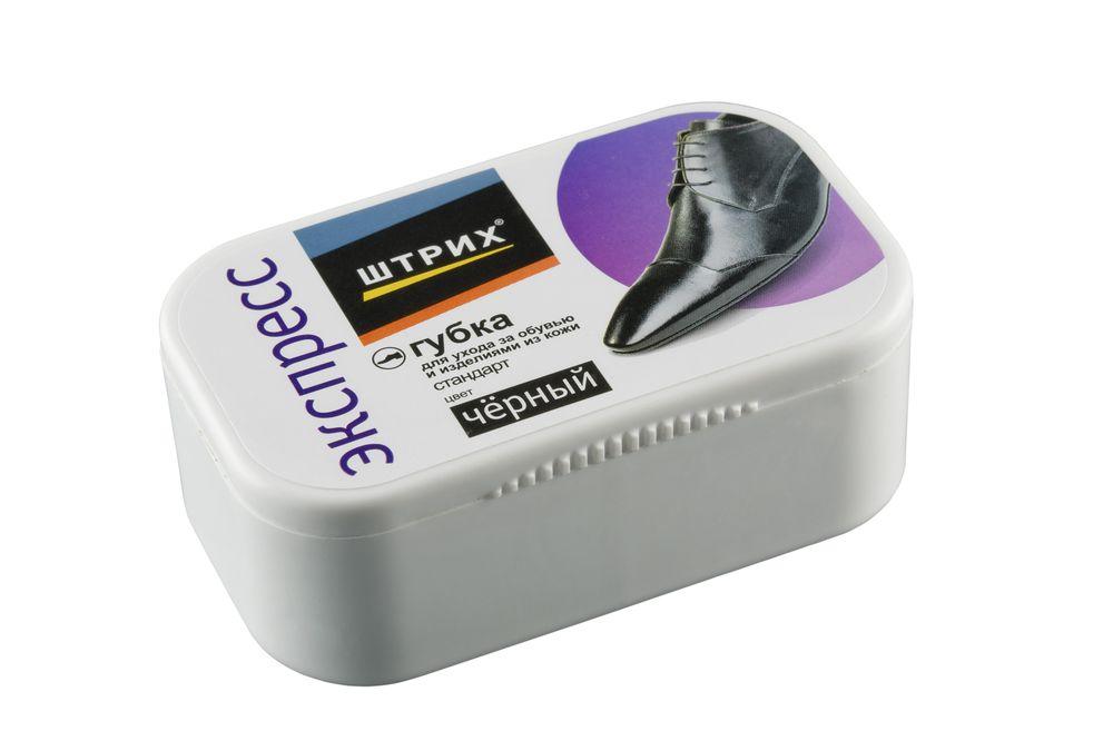 Губка для обуви Стандарт, цвет черныйт0001365Классическая удобная губка для ухода за обувью и изделиями из замши, нубука, велюра. Эффективно удаляет поверхностные загрязнения, восстанавливает первоначальный вид изделия, сохраняя структуру материала.