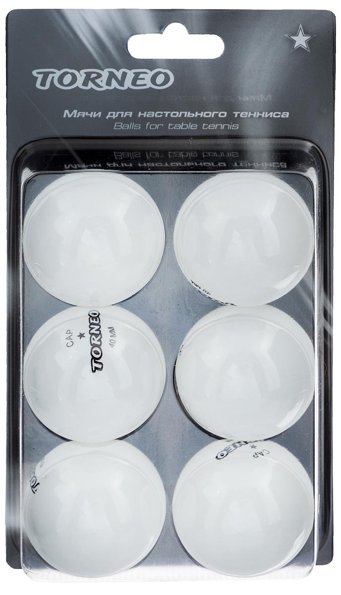 Набор мячей для настольного тенниса Torneo, 6 шт. TI-BWT200TI-BWT200Набор для настольного тенниса Torneo состоит из 6 мячей, выполненных из целлулоида. Такие мячи идеально подойдут для всех любителей игры. Набор соответствует всем заявленным стандартам, предъявляемым на соревнованиях к данному виду изделиям. Материал: целлулоид. Комплектация: 6 шт. Диаметр мяча: 4 см. Вес мяча: 2,7 г.