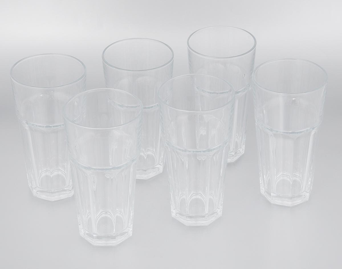 Набор стаканов Pasabahce Casablanca, 645 мл, 6 шт52719BTНабор Pasabahce Casablanca состоит из шести стаканов, изготовленных из прочного натрий-кальций-силикатного стекла. Изделия предназначены для подачи пива и других напитков. Стаканы, оснащенные рельефной многогранной поверхностью, сочетают в себе элегантный дизайн и функциональность. Набор стаканов Pasabahce Casablanca идеально подойдет для сервировки стола и станет отличным подарком к любому празднику. Можно мыть в посудомоечной машине, а также использовать в микроволновой печи, холодильнике и морозильной камере. Диаметр стакана по верхнему краю: 9 см. Высота стакана: 17,5 см.