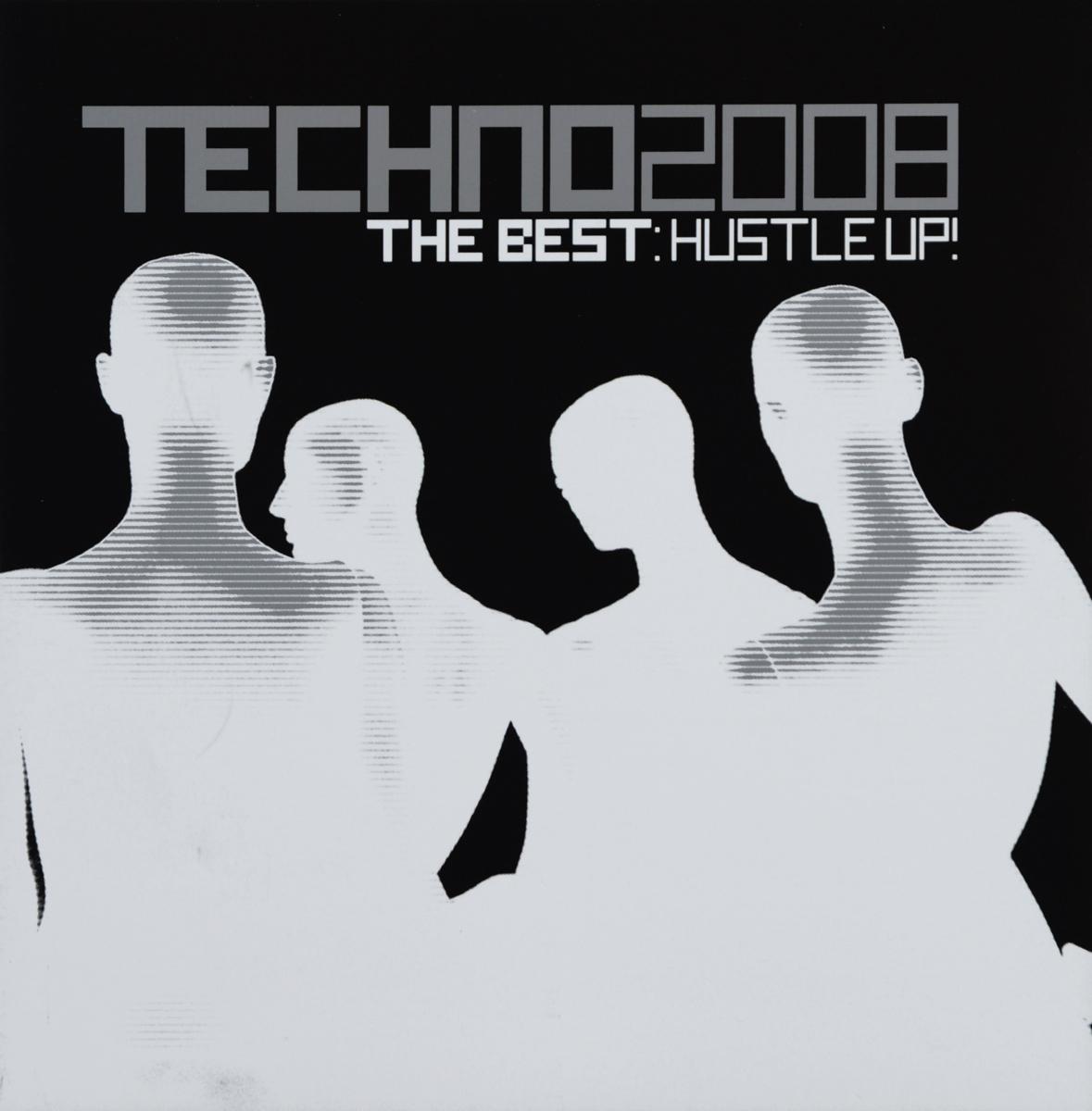 Techno 2008. The Best. Hustle Up! (2 CD) 2 Audio CD