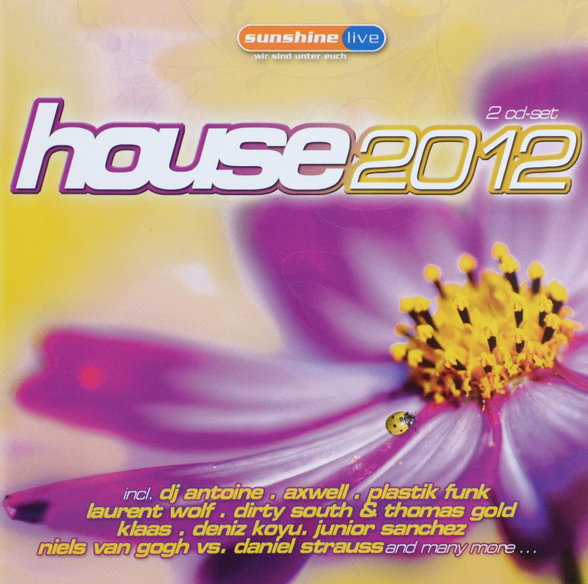 House 2012 (2 CD) 2011 2 Audio CD