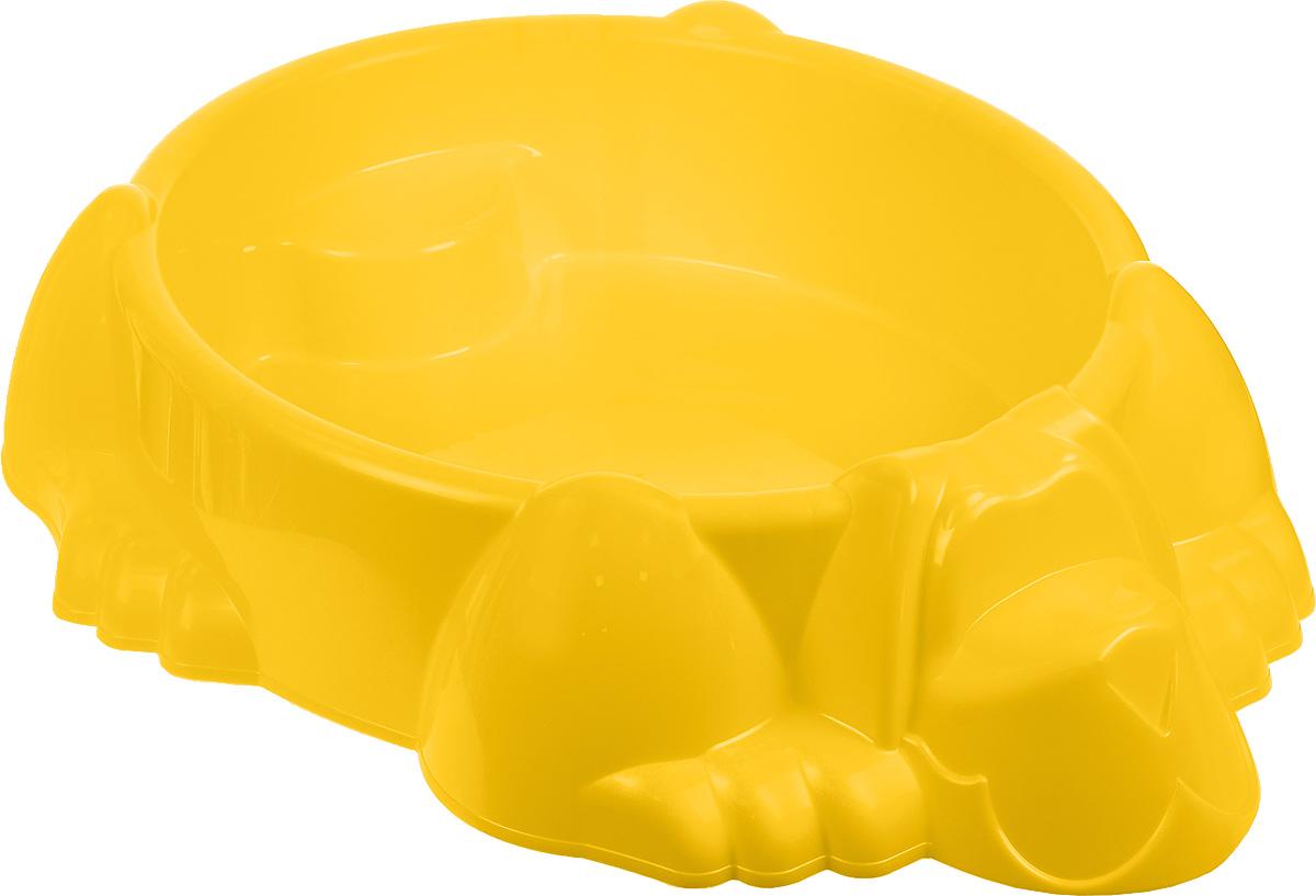 Marian Plast Бассейн-песочница Собачка373_желтыйВы не знаете, что подарить ребенку - бассейн или песочницу? Не нужно делать выбор. Оригинальный бассейн-песочница Marian Plast Собачка обязательно понравится ребенку. Теперь ребенок решает сам - строить ему куличики из песка или купаться в воде. Игрушка прекрасно подойдет для летнего отдыха детей и обеспечит бесконечные часы радости и веселья. Изделие изготовлено из качественных и безопасных материалов. В набор входят наклейки.