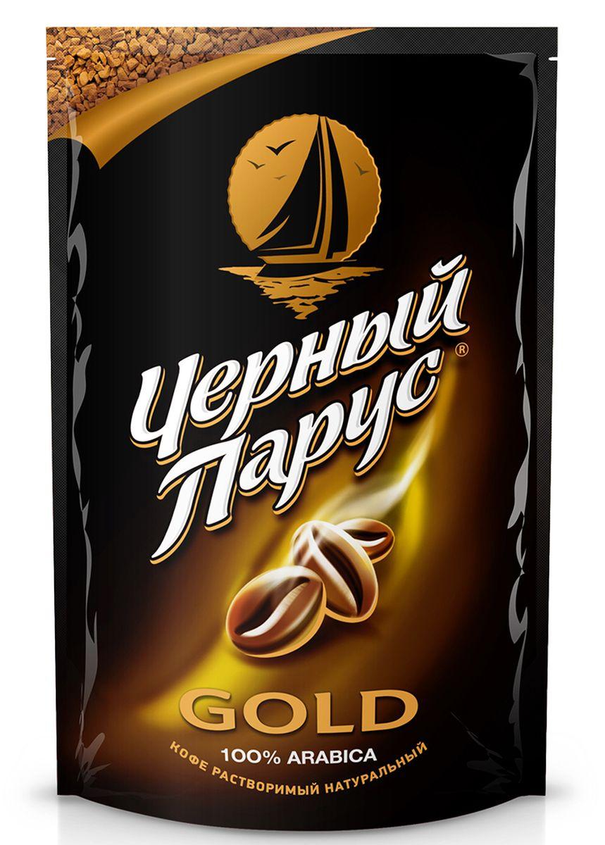 Черный Парус Gold кофе растворимый, 75 г
