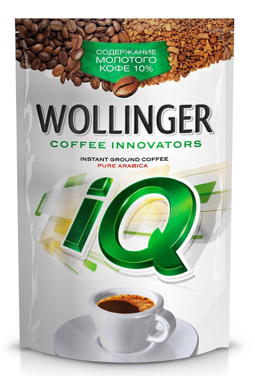 Wollinger IQ кофе растворимый с добавлением молотого, 75 г