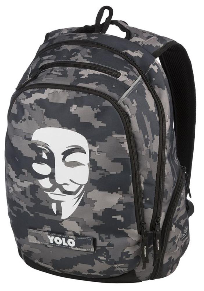 Walker Школьный ранец Fun Anonymous42049/75Уплотненная спинка и лямки помогают лучше распределить нагрузку и сохранить форму рюкзака независимо от его наполнения. Светоотражающие элементы расположены на передней части рюкзака на боковых и лямках. С ним путешествие становится безопасным.