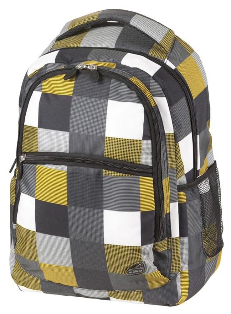 Walker Школьный ранец Classic цвет желтый42264/117Уплотненная спинка и лямки помогают лучше распределить нагрузку и сохранить форму рюкзака независимо от его наполнения.