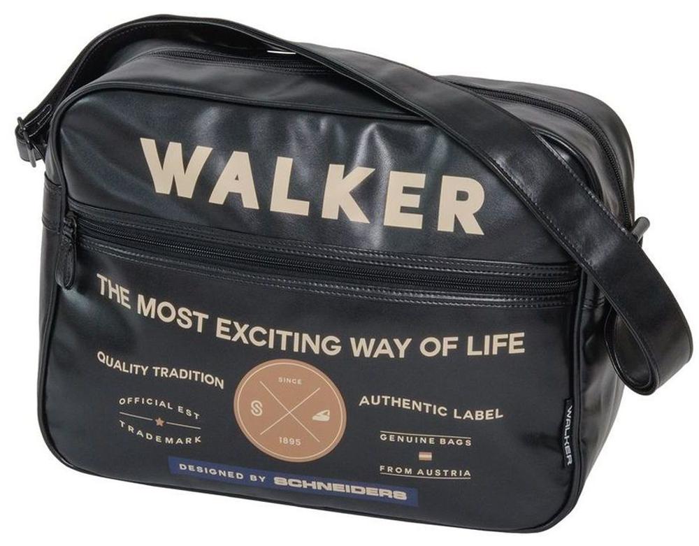 Walker Школьный ранец Square42259/80Прочная и вместительная сумка Walker смотрится элегантно в любой ситуации. Идеальный выбор для школы , университета или досуга.