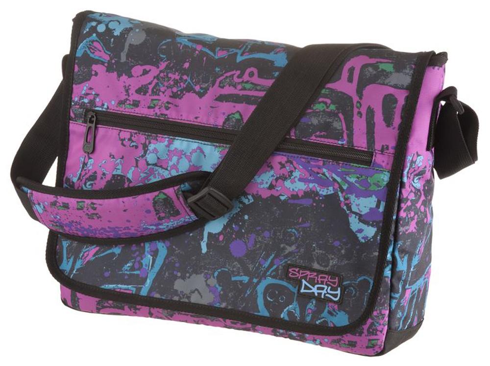 Walker Школьный ранец Fun Spray Day цвет фуксия42086/54Прочная и вместительная сумка Walker смотрится элегантно в любой ситуации. Идеальный выбор для школы , университета или досуга.