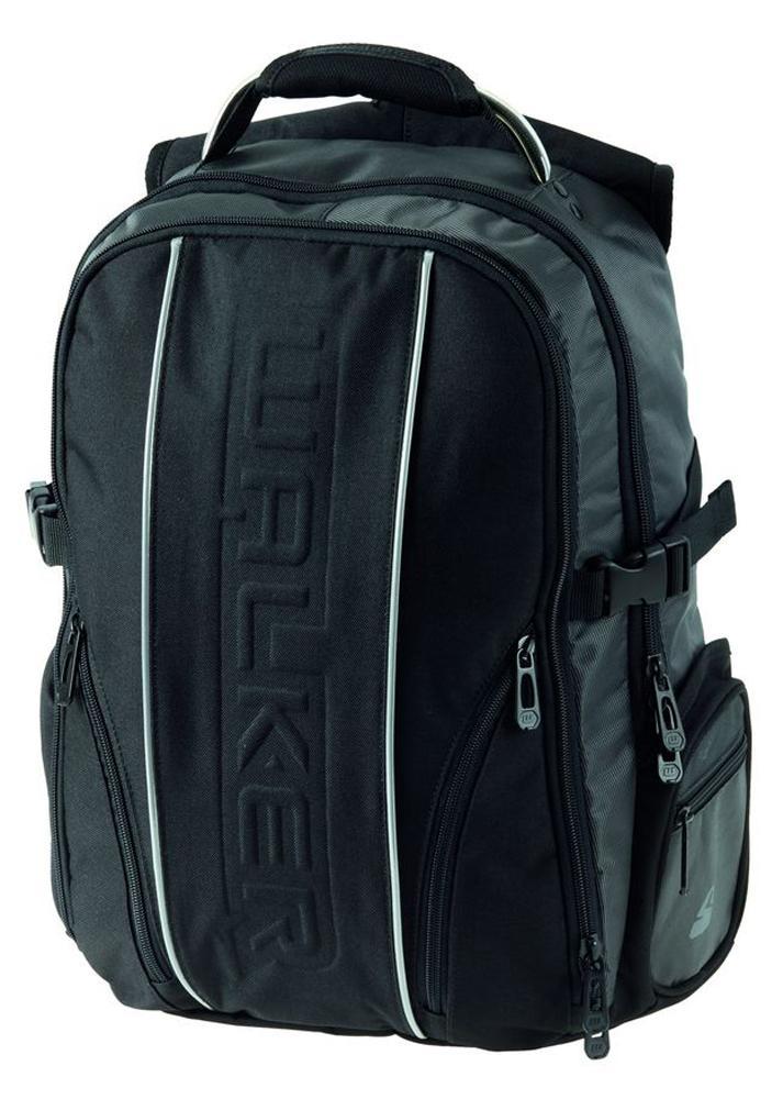 Walker Школьный ранец Genius42406/80Уплотненная спинка и лямки помогают лучше распределить нагрузку и сохранить форму рюкзака независимо от его наполнения. Светоотражающие элементы расположены на передней части рюкзака на боковых и лямках. С ним путешествие становится безопасным.
