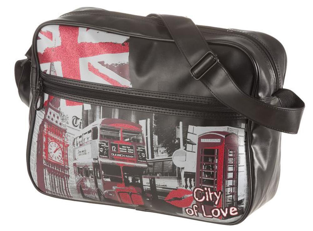 Walker Школьная сумка Fun City of Love42649/80Прочная и вместительная сумка Walker смотрится элегантно в любой ситуации. Идеальный выбор для школы , университета или досуга.