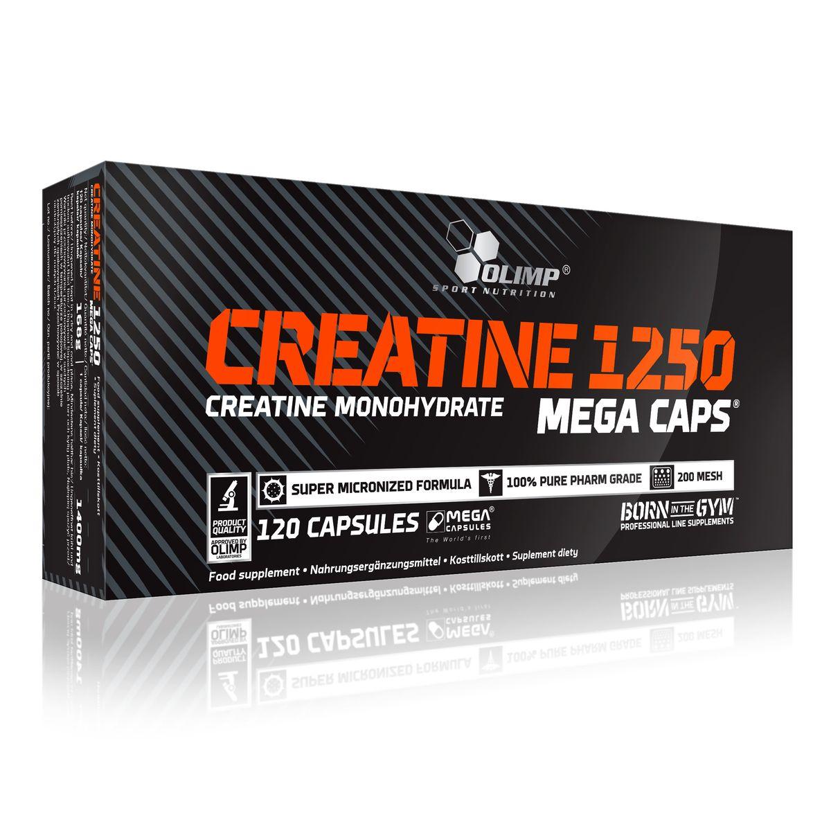 OLIMP Креатин Creatine Mega Caps 120caps