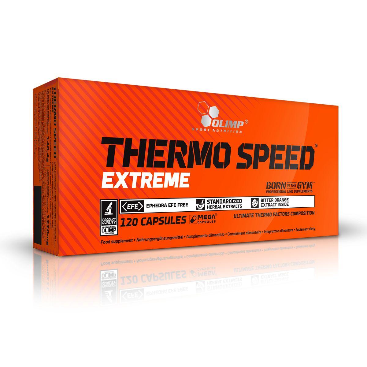 OLIMP Жиросжигатель Термо Спид Икстрим, 120 капс ( O23996 )