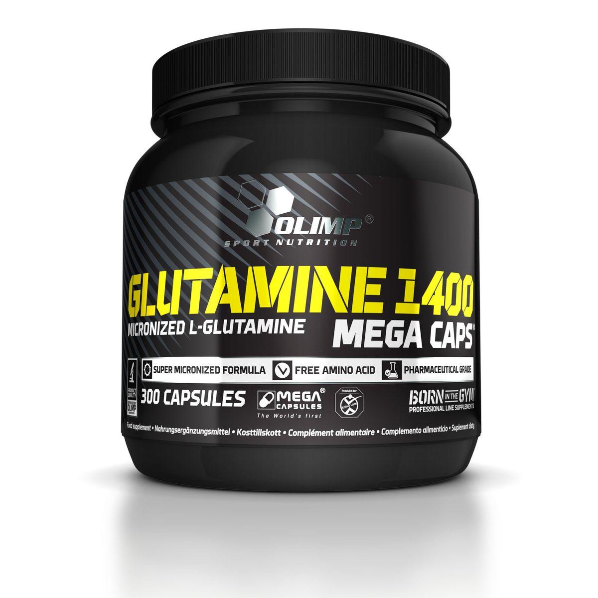 OLIMP Глютамин 1400 Мега Капс, 300 капс