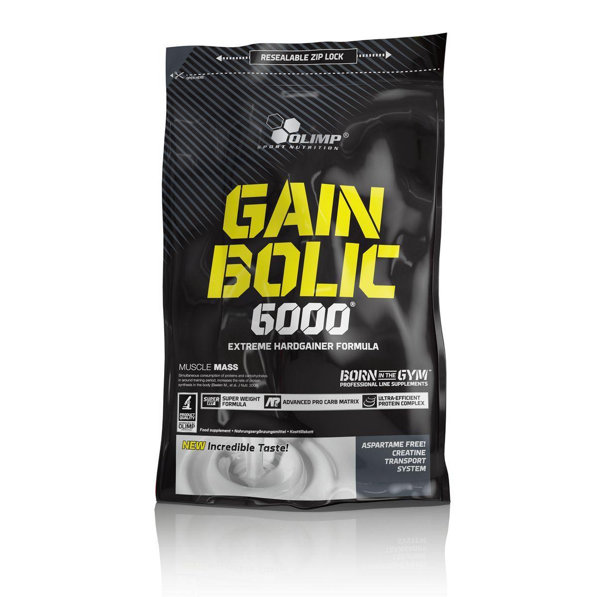 OLIMP Гейнер Gain Bolic 6000 1кг, ванильO27710Olimp Gain Bolic 6000 это очень высококачественный продукт, для быстрого набора мышечной массы, особенно для людей, устойчивых к приобретению новой мышечной массы. Olimp Gain Bolic 6000 обеспечивает всеми питательными веществами, важными для быстрого развития мускульной силы и массы. Комплекс углеводов в Olimp Gain Bolic 6000 надлежащим образом составлен с различными гликимическими индексами, сывороточным белковым концентратом, казеином, яичным белком, обогащенный моногидратом креатина и таурином. Добавление креатина, декстроза и таурина, в определенном порядке и дозировке ускоряет и повышает активность анаболических процессов. Рекомендации по применению: 1-3 порции в день - между приемами пищи. Рекомендации по приготовлению: 100 г порошка растворите в 120 мл питьевой воды. Начинающим рекомендуется смешивать 50 г продукта с тем же количеством воды