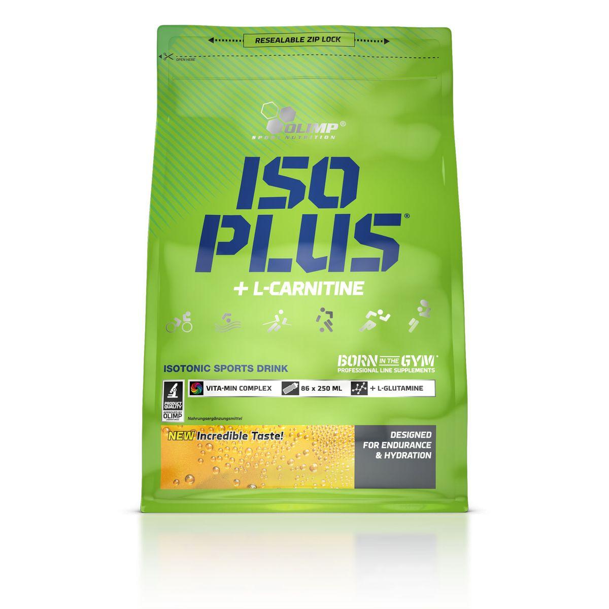 OLIMP Изотонический напиток Iso Plus Powder 1505г, лимон ( O28809 )