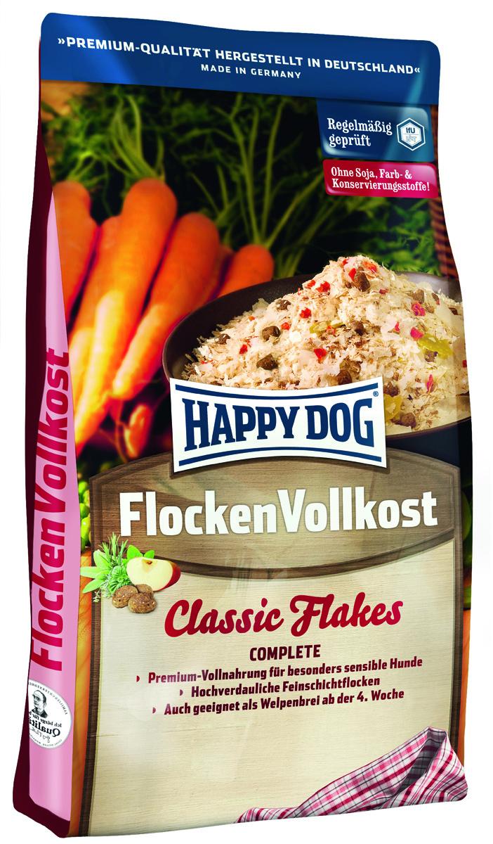 """Корм сухой Happy Dog """"Flocken Vollkost"""", дополнительное питание для собак в виде хлопьев, 3 кг 2166"""