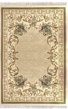 Коврик прикроватный Oriental Weavers Кастл, цвет: красный, 120 см х 180 см. 634 J12035Традиционные ковровые дизайнвы из Персии и Ирана на ковре высокрй плотности подчеркнут изысканность и строгость любого классического интерьера
