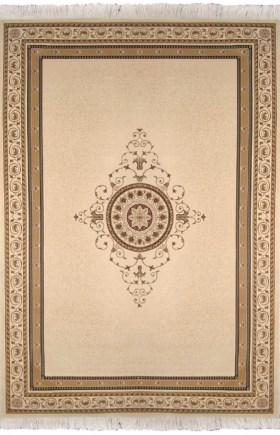 Коврик прикроватный Oriental Weavers Кастл, цвет: светло-коричневый, 120 см х 180 см. 92 W12037Традиционные ковровые дизайнвы из Персии и Ирана на ковре высокрй плотности подчеркнут изысканность и строгость любого классического интерьера