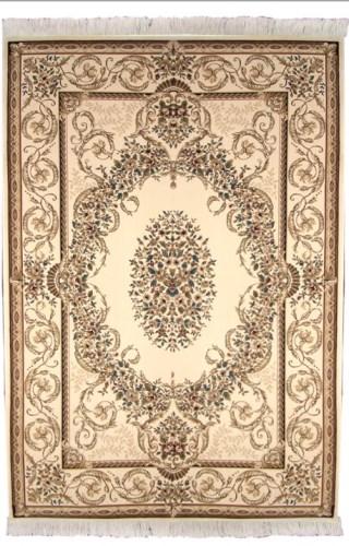 Коврик прикроватный Oriental Weavers Кастл, цвет: светло-коричневый, 120 см х 180 см. 418 W12040Традиционные ковровые дизайнвы из Персии и Ирана на ковре высокрй плотности подчеркнут изысканность и строгость любого классического интерьера