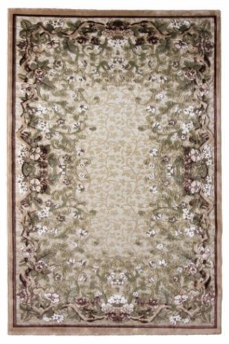 Коврик прикроватный Oriental Weavers Арена, цвет: светло-бежевый, 120 см х 180 см. 361Y15131Сочетание крупного рисунка на шинилле-это последние тенденции ковровой моды. Подойдет для классических интерьеров.