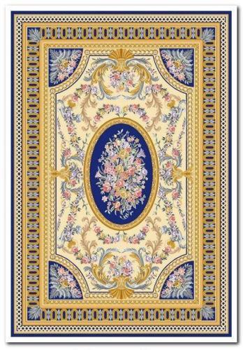 Ковер Oriental Weavers Афины, цвет: синий, 120 х 180 см. 4 B16709Оригинальный дизайн в гобеленовом качестве - это классика, удовлетворяющая самый изысканный вкус. Ковер от известной египетской фабрики Oriental Weavers подойдет для современных и классических интерьеров.