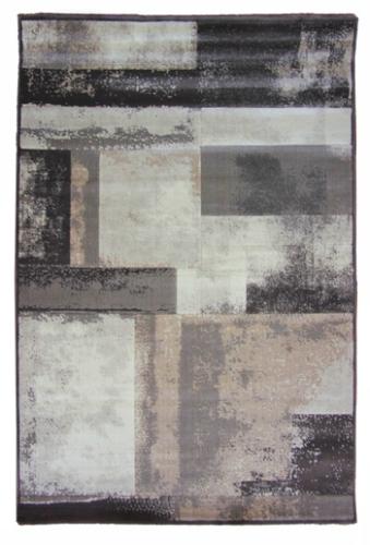 Коврик прикроватный Oriental Weavers Скай Лайн, цвет: серо-белый, 80 см х 140 см. 612 Y17121Высокоплотный ковер с рельефной стрижкой из полипропилена - станет незаменимым для спальни и гостиной