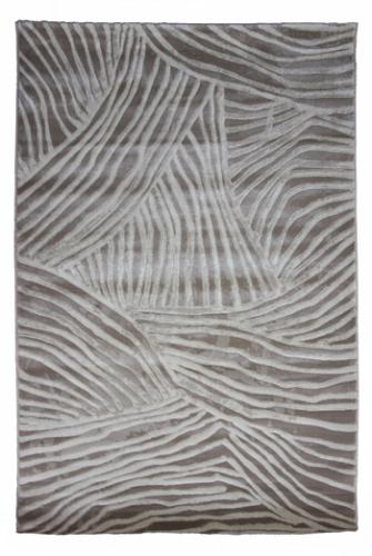 Коврик прикроватный Oriental Weavers Скай Лайн, цвет: светло-коричневый, 120 см х 180 см. 661 Х17124Высокоплотный ковер с рельефной стрижкой из полипропилена - станет незаменимым для спальни и гостиной