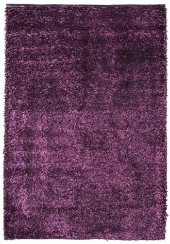 Коврик прикроватный Oriental Weavers Беллини, цвет: фиолетовый, 70 см х 130 см. 1738417384Сочетание ворса из полиэстера и хлопковой основы, что придает ковру дополнительную мягкость и удобство, делает эту коллекцию незаменимой для спальни и детской