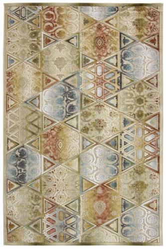 Ковер Oriental Weavers Симфония, цвет: коричневый, 120 см х 180 см. 11 X18570Современный дизайн в необычной цветовой гамме, сочетающийся в ковре бренда Oriental Weavers, подойдет как для креативного, так и для строгого интерьера.