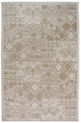 Коврик прикроватный Oriental Weavers Дрим, цвет: оливковый, 120 см х 180 см. 3 W18588Изысканный шерстяной гобелен в стиле пэтч-ворк удовлетворит самый изысканный вкус