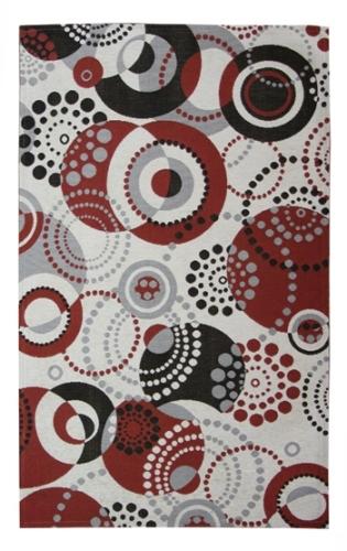 Коврик прикроватный Oriental Weavers Санлайт, цвет: серый, 75 х 120 см. 70 X20705Яркий гобеленовый ковер Oriental Weavers с оригинальным дизайном станет отличным дополнением классического и современного интерьера.