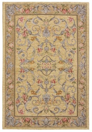 Коврик прикроватный Oriental Weavers Санлайт, цвет: светло-коричневый, 75 х 120 см. 225 Т20709Яркий гобеленовый ковер Oriental Weavers с оригинальным дизайном станет отличным дополнением классического и современного интерьера.