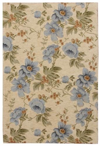 Коврик прикроватный Oriental Weavers Санлайт, цвет: светло-коричневый, 75 см х 120 см. 306 L20710Яркие гобелены на основе из латекса за счет многобразия дизайнов станут незаменимым украшением любого интерьера